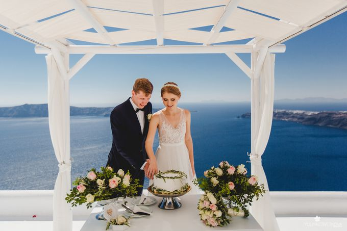свадьба на санторини